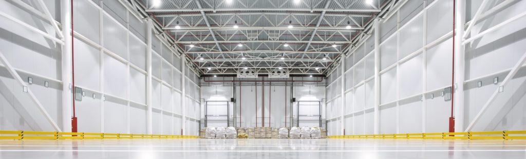 Walk-in Cooler in Warehouse