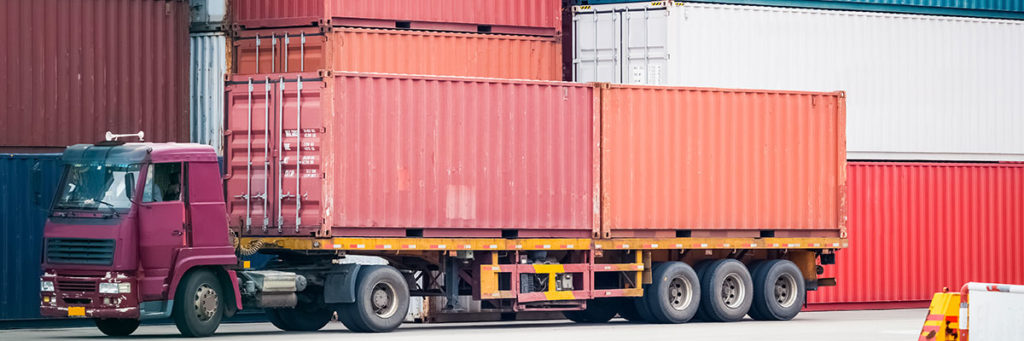 Drayage Truck and Port